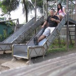 Mark and Lisa at Playground