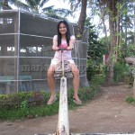 Lisa at the Seesaw