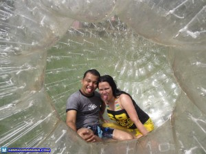 Shot from the Opening of the Zorb