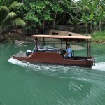 Outrigger Boat used for Floating Resto