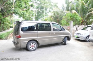 Cheap Bohol Tour Package: The Starex Van