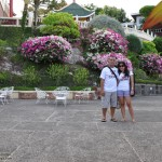 Mark and Lisa at Cebu Taoist Temple