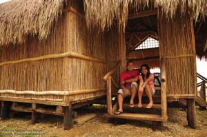 House made of Bamboo and Nipa