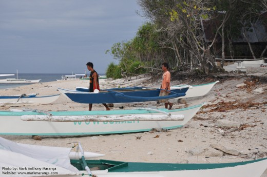 Paddle-powered Outrigger