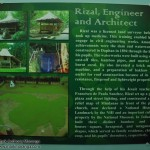 Rizal, Engineer and Architect