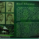 Rizal, Educator