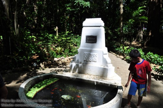 Fish Pond in front of Rizal's House