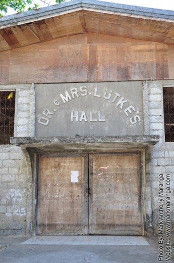 Dr. and Mrs Lutke's Hall