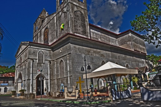 St. James Church, Photoshoped