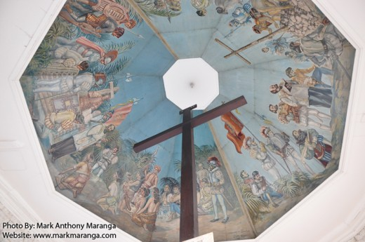 The Ceiling of the Magellan's Cross Chapel