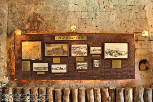 Pictures of Fort San Pedro in the Past