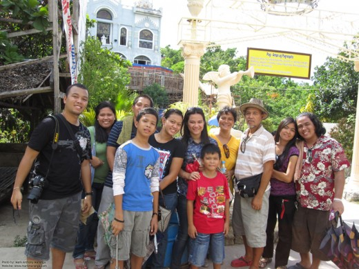With my Family at Simala
