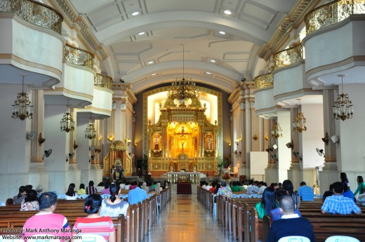 Altar of Cebu Metropolitan Cathedral