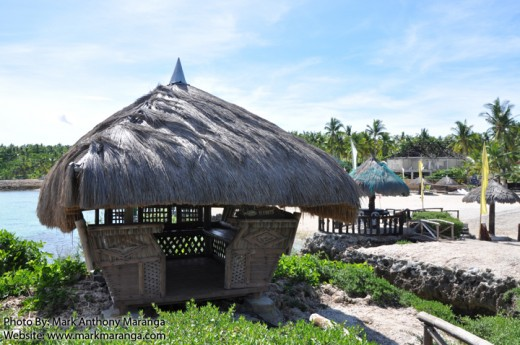 Another style of hut at Mangodlong