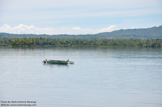 Lake Danao in Camotes