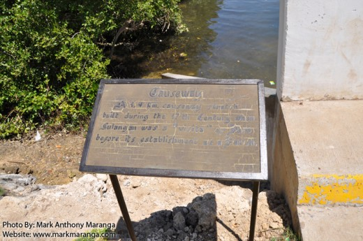 Marker of the Causeway