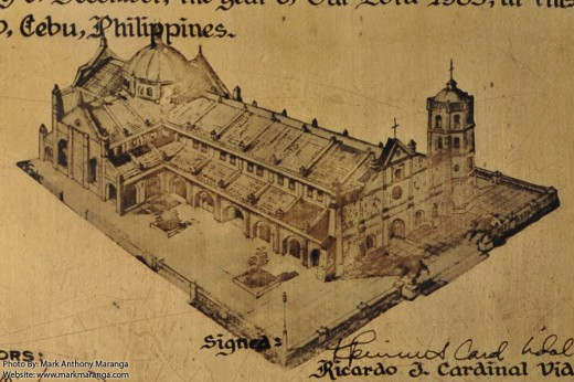 Aerial View of the Church