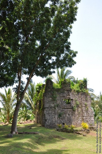 The ruins of the bell tower