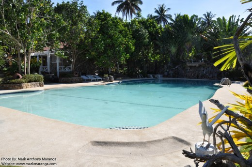 The Swimming Pool of Camiguin Highland Resort