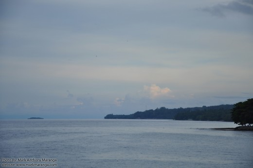Mantigue Island (Left), Camiguin (Right) - from afar