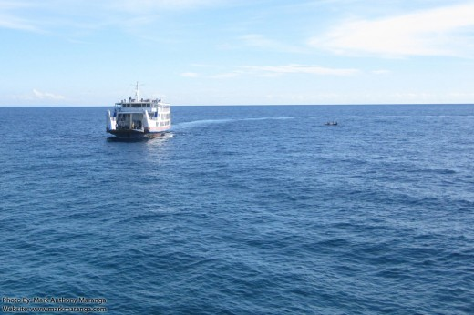Super Shuttle Ferry from Bohol on Docking Maneuver
