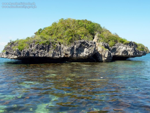 One of the Islands in Hundred Islands