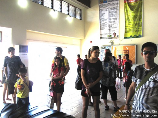 Arrival Area of Kalibo Airport