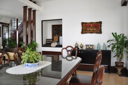 Dining Area of Macapagal Ancestral House