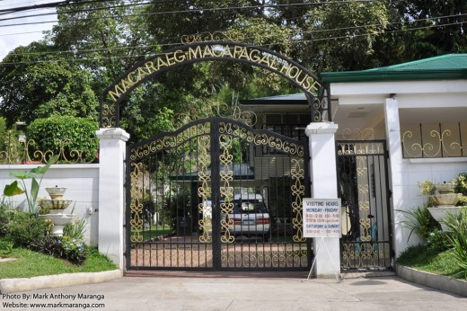 Entrance gate of Macaraeg-Macapagal Ancestral House