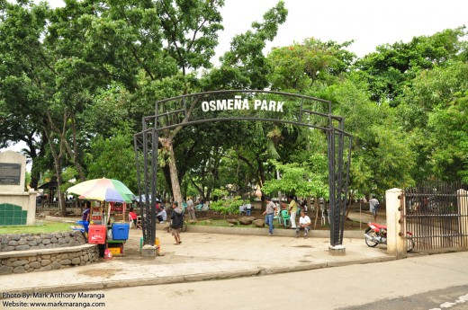 Entrance of Osmena Park