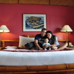 Family Picture at our Room in Pearl Farm