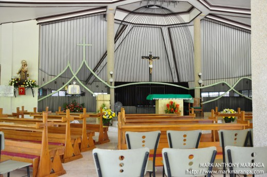 Interiors of the Carmelite Monastery