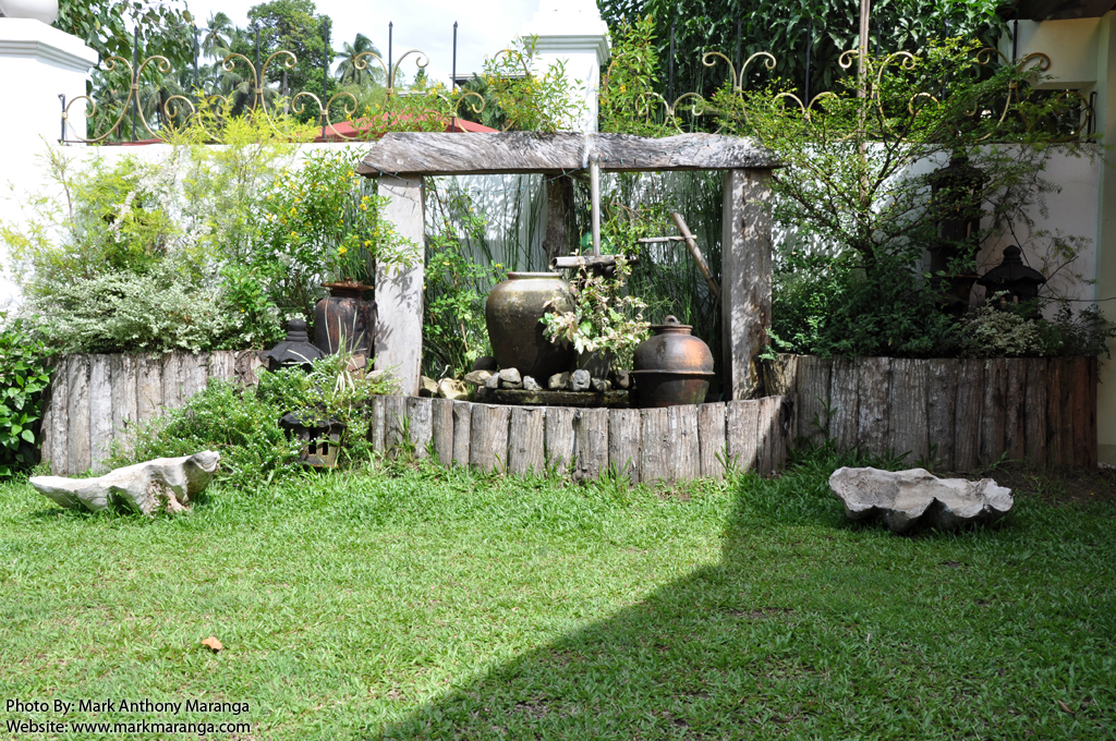 landscape design inside the compound philippines tour guide