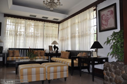 Living room of Macapagal Ancestral House