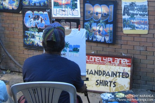 Lonely Planet Hand-painted Shirts Boracay