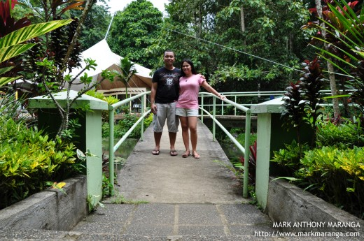 Mark and Lisa at Philippine Eagle Center
