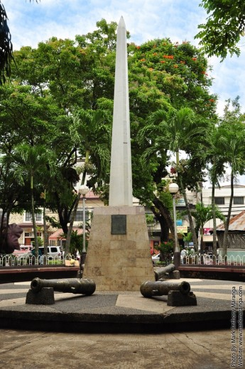 Marker of Early Davao Settlement