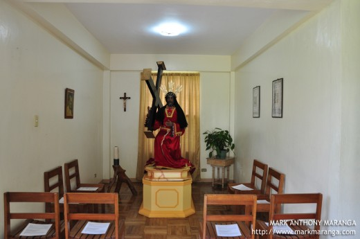 One of the Prayer Rooms of the Monastery