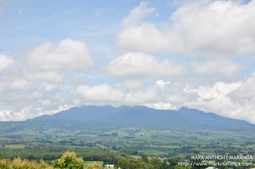 View of Mount Kitanglad and Landscape from Bukidnon Monastery