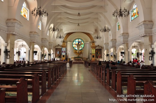 Interior of Cathedral of Saint Michael the Archangel