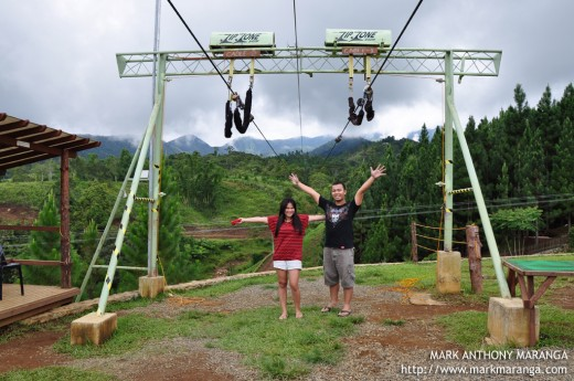 Mark and Lisa at Dahilayan Adventure Park