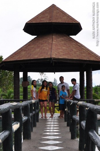 The Group at RR Family Resort Fish Pond