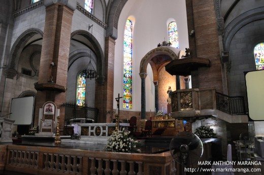 Altar of the Manila Cathedral