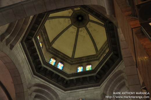 Ceiling of the Manila Metropolitan Cathedral