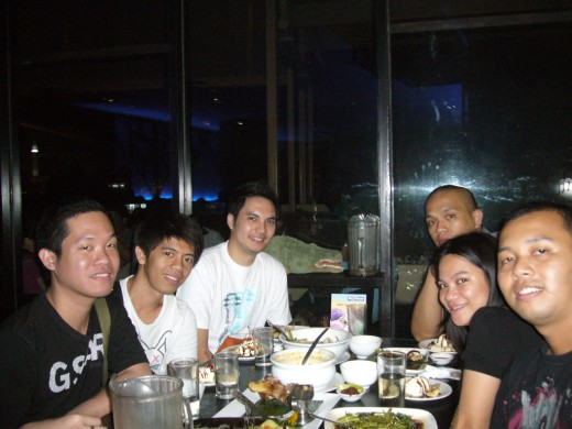 Dinner at Makati after Enchanted Kingdom