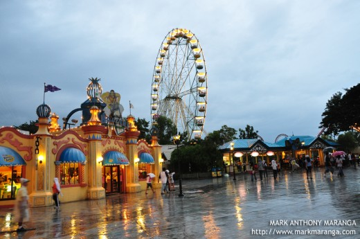Enchanted Kingdom at Night