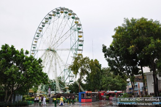 Enchanted Kingdom's Ferris Wheel