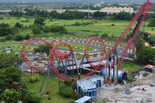 Enchanted Kingdom's Roller Coaster and Go-kart Race Track