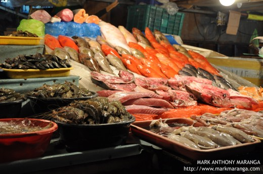 Fresh Seafood at the Wet Market