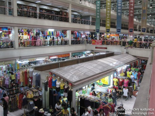 Inside Tutuban Mall